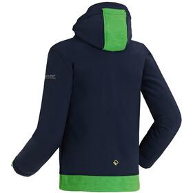 Regatta Astrox Jas Kinderen groen/blauw
